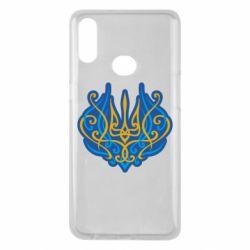 Чохол для Samsung A10s Український тризуб монограма