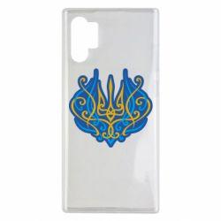 Чохол для Samsung Note 10 Plus Український тризуб монограма