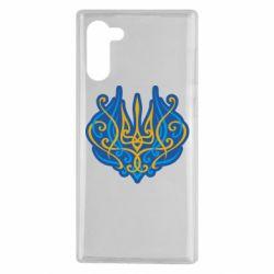 Чохол для Samsung Note 10 Український тризуб монограма
