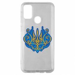 Чохол для Samsung M30s Український тризуб монограма
