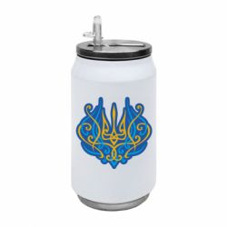 Термобанка 350ml Український тризуб монограма