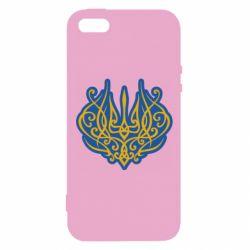 Чохол для iphone 5/5S/SE Український тризуб монограма