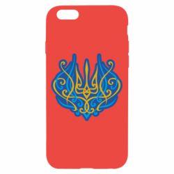 Чохол для iPhone 6/6S Український тризуб монограма