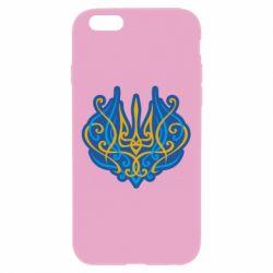 Чохол для iPhone 6 Plus/6S Plus Український тризуб монограма