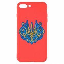 Чохол для iPhone 7 Plus Український тризуб монограма