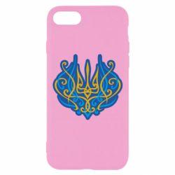 Чохол для iPhone 8 Український тризуб монограма