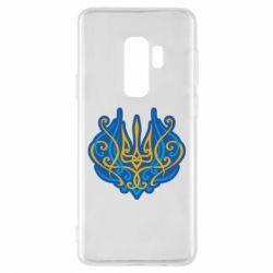 Чохол для Samsung S9+ Український тризуб монограма