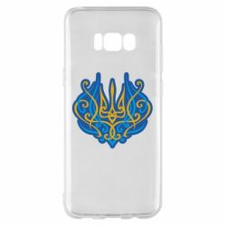 Чохол для Samsung S8+ Український тризуб монограма