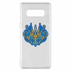 Чохол для Samsung Note 8 Український тризуб монограма
