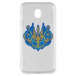 Чохол для Samsung J3 2017 Український тризуб монограма