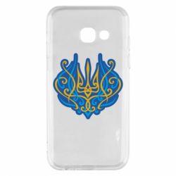 Чохол для Samsung A3 2017 Український тризуб монограма