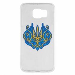 Чохол для Samsung S6 Український тризуб монограма