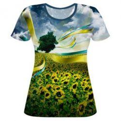 Жіночі футболки з українською символікою - купити в Києві 0a1bf0f232575