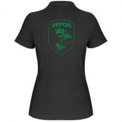Женская футболка поло Укроп Light - FatLine