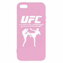 Купить UFC, Чехол для iPhone5/5S/SE Ultimate Fighting Championship, FatLine
