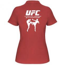 Женская футболка поло Ultimate Fighting Championship - FatLine