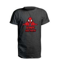 Удлиненная футболка Ultimate Web Throw