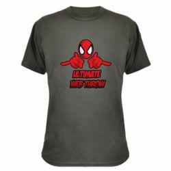 Камуфляжная футболка Ultimate Web Throw