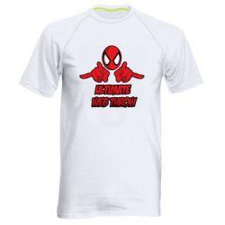Мужская спортивная футболка Ultimate Web Throw