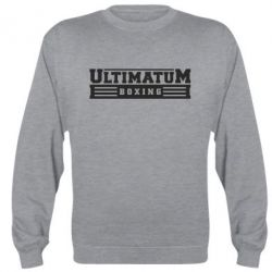 Реглан (свитшот) Ultimatum Boxing - FatLine