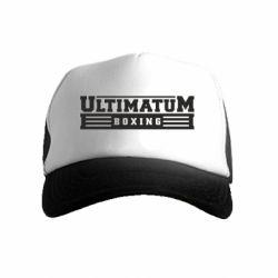 Детская кепка-тракер Ultimatum Boxing