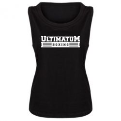 Женская майка Ultimatum Boxing - FatLine
