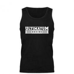 Мужская майка Ultimatum Boxing - FatLine