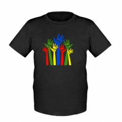 Детская футболка Улыбки на руках
