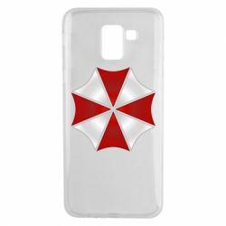 Чохол для Samsung J6 Umbrella Corp Logo