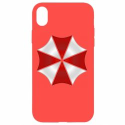 Чохол для iPhone XR Umbrella Corp Logo