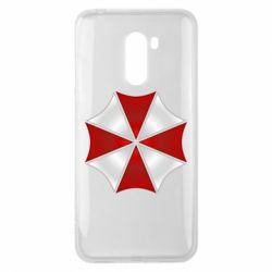 Чохол для Xiaomi Pocophone F1 Umbrella Corp Logo