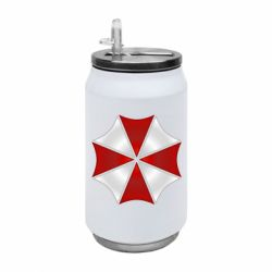 Термобанка 350ml Umbrella Corp Logo