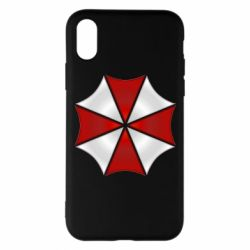 Чохол для iPhone X/Xs Umbrella Corp Logo