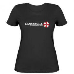 Женская футболка Umbrella Corp - FatLine