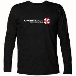 Футболка с длинным рукавом Umbrella Corp - FatLine