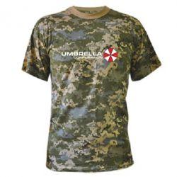 Камуфляжная футболка Umbrella Corp - FatLine