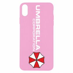 Чехол для iPhone X/Xs Umbrella Corp