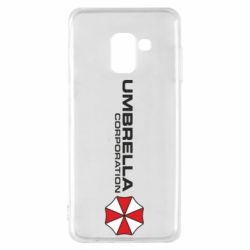 Чехол для Samsung A8 2018 Umbrella Corp
