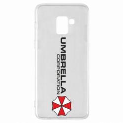 Чехол для Samsung A8+ 2018 Umbrella Corp