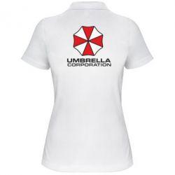 Женская футболка поло Umbrella - FatLine