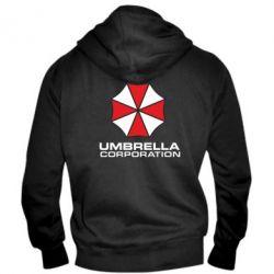 Мужская толстовка на молнии Umbrella - FatLine