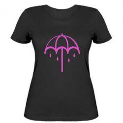 Купить Saharok, Женская футболка Umbrella, FatLine