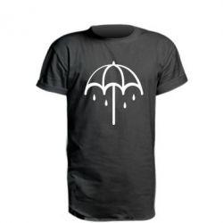 Saharok, Удлиненная футболка Umbrella, FatLine  - купить со скидкой