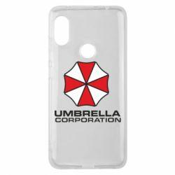 Чехол для Xiaomi Redmi Note 6 Pro Umbrella