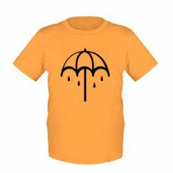 Купить Saharok, Детская футболка Umbrella, FatLine