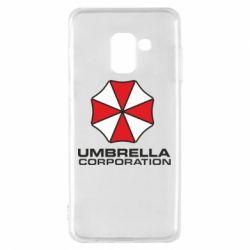 Чехол для Samsung A8 2018 Umbrella