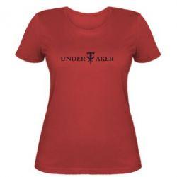 Женская футболка Undertaker - FatLine