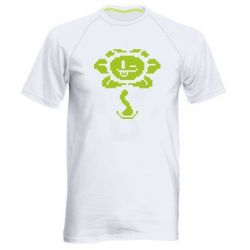 Мужская спортивная футболка Undertale Flowey