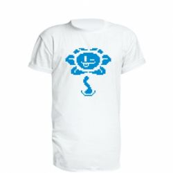 Удлиненная футболка Undertale Flowey