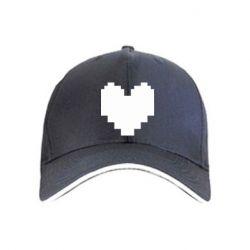 Кепка Undertale heart